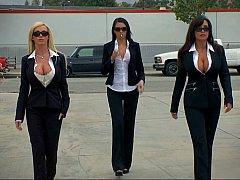 Nikki Benz, Lisa Ann, Scott Nails, Johnny Sins  Three porn star criminals