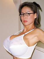 Asian Legend Minka getting down and dirty Military style in a Pilot Uniform