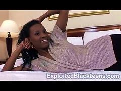 Tight Body Ebony Teen In 1st Time  Video