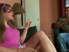 Lewd  Tiffany Starr Gets Her  Smashed By A Black Dude