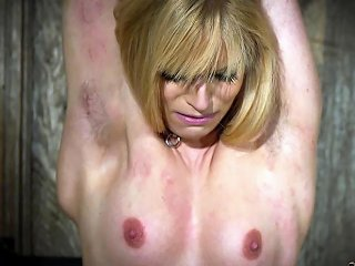 Hot Blonde In Submission Gets Tortured And Loves It Drtuber