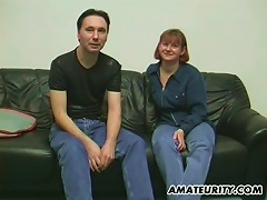 Mature Amateur Slut Takes A Ride On A Dick In Homemade Clip
