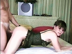 Homemade Video With Horny Amateurs Sucking And Fucking