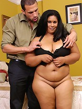 Chocolate and sexy BBW here again for a nice pussy pounding!