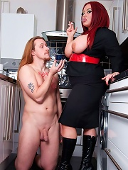 Jemstone Tying Up MILF Slut Paige And Fucks Her With A Dildo
