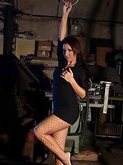 Will Punish Her Fragile Body With Whips And Clamps