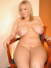 Cute and naive young model with huge juicy melons