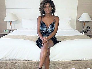 Glamorous Black Teen Babe