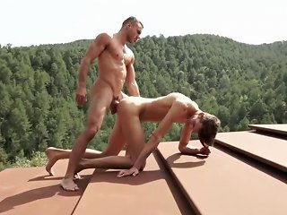 Bareback On The Roof Free Gay Porn Videos Gay Sex Movies Mobile Gay Porn