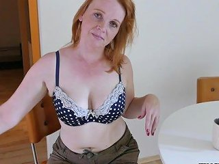 Seductive Redhead Milf Wants You To Fuck Her Tight Wet Pussy In Missionary
