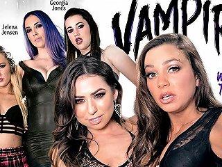 Carter Cruise Melissa Moore Abigail Mac Jelena Jensen Georgia Jones In Vampires Part 1 Welcome To The Family Girlsway Txxx Com