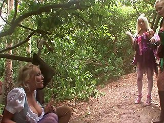 Wild Blonde With Huge Tits Enjoying A Hardcore Gangbang I Any Porn