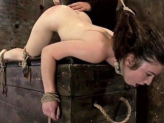 Girl Next Door Bound Ass Up Double Penetratedskull Fucked Caned Vibrated 2 Multiple Orgasms Hogtied Txxx Com