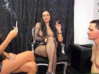 German BDSM Teens My Ashtray Slave