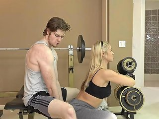 Therealworkout Hot Milf Fucks Fitness Client Hd Porn 9f