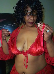 Cleo is a horny granny, showing her granny panties and all her naughty granny parts
