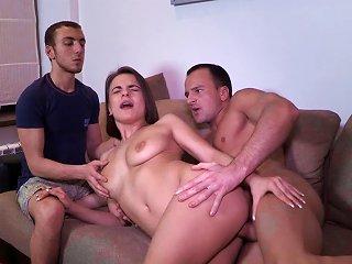 Young Babe Receives A Good Cock