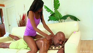 Black Dick Is Just What Her Black Pussy Requires At The Moment!