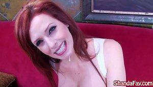 Kinky Hooter Girl Shanda Fay Gives Bj!