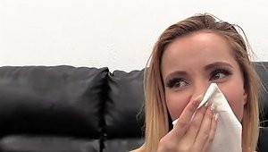Petite Tiny Blonde Spinner Ass Fucked On Casting Couch