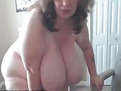 Omfg This Granny Has Some Monster Natural Tits