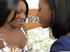 Gorgeous Ebony Girls Love The Hitachi On Their Cunts