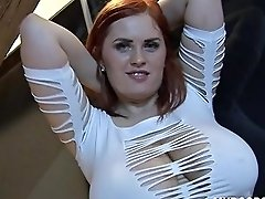 Alexsis Faye Dance And Play With Her Huge Natural Tits