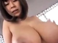 Huge All Natural Japanese Boobs In Hardcore Sex Action