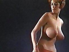 C'mon Everybody Vintage Jiggling Huge Tits Dancer
