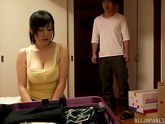 Big Breasted Aoyama Nana Has Passionate Sex In A Room