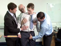 Gay groupsex anal fucking at cmnm audition