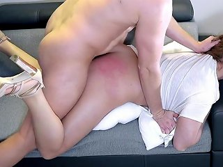 Extreme Spanking Deepthroat And Rough Fuck Punishment Of Naughty Wife