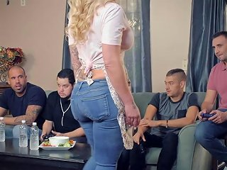 Mom Gangbanged And Dp Fucked At This Birthday Party Porn Videos