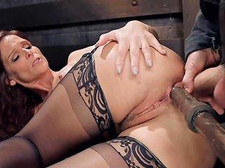 Busty Milf Slave Has Dp Training Porn Videos