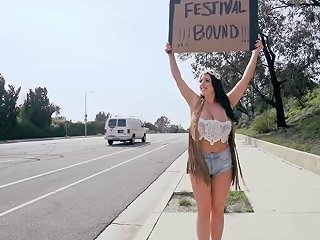Huge Boobs Festival Bitch Gives Up Her Ass For A Ride Porn Videos