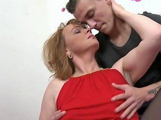 Mom With Saggy Tits Gets Taboo Sex With Son Free Porn D2