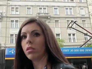 Public Pick Ups Hungarian Babe Tiffany Shine Gets Fucked In The Backroom