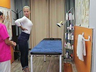 Perfect Portuguese Auburn Slut Helena Kramer Rides Masseur's Cock