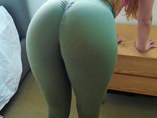 Make Him Cum In My Panties And Yoga Pants After Workout Upornia Com