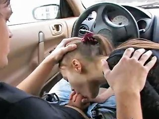 Extreme Blowjob In My Car Drtuber