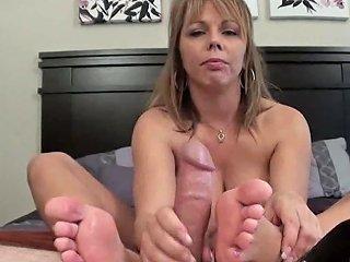 Sweaty Footjob And Cum Inside Her Shoe Porn Ec Xhamster