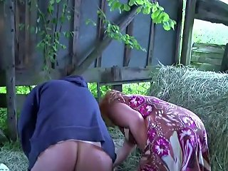 German Milf Mom And Dad Fuck Outdoor On Farm Free Porn 0b