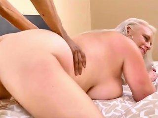 Horny Hussy Crazy Interracial Clip