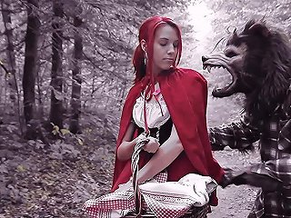 Brind Love Dick Pickaxe In Halloween Lil Red Riding Slut Pegasproductions Txxx Com