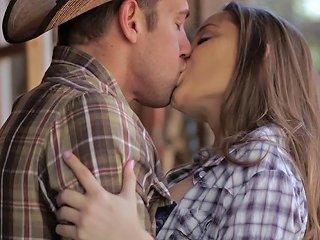 Hd Fantasyhd Cowgirl Dani Daniels Rides Dick At The
