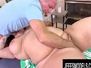 Rotund Redhead Monique Lust Lets The Masseur Worship Her Every Curve