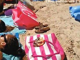 Three Hot Nudists Sunbathing