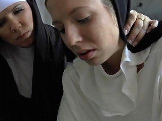 Bossy Nuns Gagging Slut Porn Videos