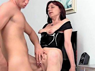 Petite Mature Secretary Fuck In Office Youger Boss Porn 3c