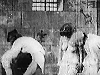 Antique Porn 1920s Bastille Day Hairy French Girls